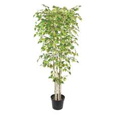 artificial birch trees with lights 230cm height green artificial birch tree dongyi