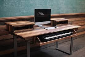 music workstation desk plans best home furniture decoration