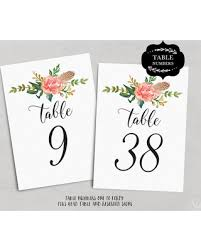 wedding table numbers template check out these bargains on wedding table numbers 140 floral