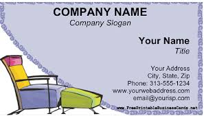 Home Decor Company Names Home Decor Business Card