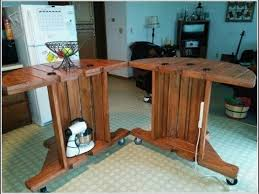 Cable Reel Table by Cable Spool Tables That Are Simply Awesome Youtube