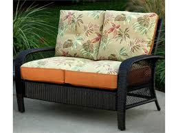 White Resin Wicker Loveseat Furniture Elegant Patio Furniture Design Ideas With Cozy Outdoor