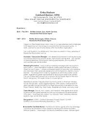 Resume Template For Real Estate Agents Property Agent Resume Free Resume Example And Writing Download