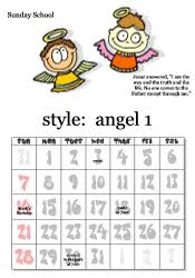 Sunday School Calendar Template free printable sunday school calendars images and