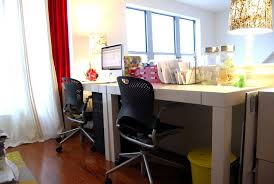 Armchair Organizers Eclectic Desk Home Office Eclectic With Wood Desk Pink Armchair