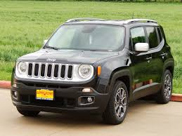jeep vehicles 2015 2015 jeep renegade limited with black leather trimmed bucket seats