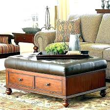 Ottoman With Tray Storage Ottoman Coffee Table With Trays Gmsousa