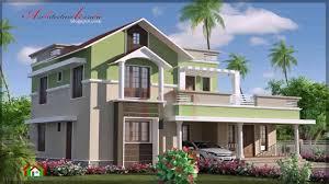 contemporary style house elevation youtube