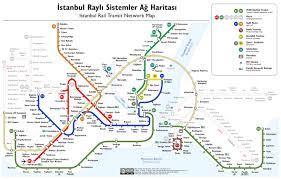 istanbul metro map istanbul opens bids for 7 metro lines railway pro