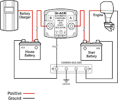 battery isolator installation question with boat dual wiring