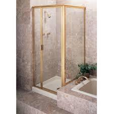 Gold Shower Doors Century Bathworks B 1631b At Hardware Plumbing Hardware