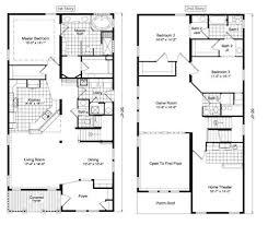 2 storey house plans brilliant decoration small two story house plans floor plan storey