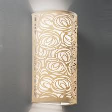 Laser Cut Lamp Shade Uk by Wb057 Abstract 2 Light Cream Laser Cut Wall Light