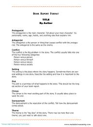 college book report template book summary template college template