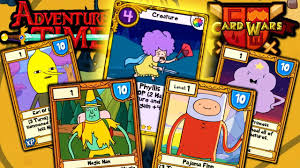 wars cards card wars adventure time new update gold cards magic