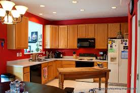 Golden Oak Kitchen Cabinets by Kitchen Furniture Kitchen Paint Colors With Oak Cabinets Top Wall