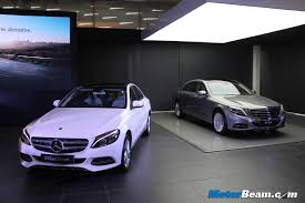 mercedes c class vs s class mercedes c class diesel launched in india priced from rs 39 90 lakhs