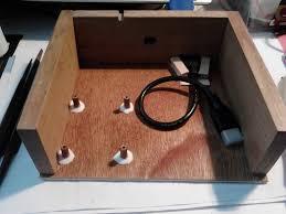 raspberry pi xbmc kodi diy wooden media player case album on