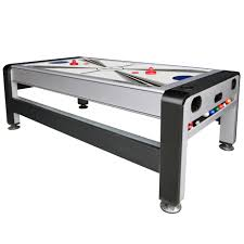 3 in 1 air hockey table east point sports 7ft 3 in 1 swivel table
