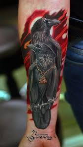 raven tattoo photo ravens and rose raven tattoo by evilchrischris