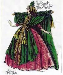 First Up Wind Curtain Bob Mackie The Curtain Rod Dress Lisa U0027s History Room