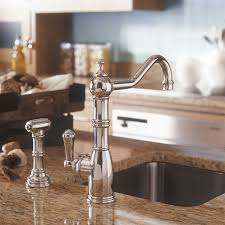 perrin and rowe kitchen faucet perrin rowe 4746 aquitaine single lever kitchen tap with rinse