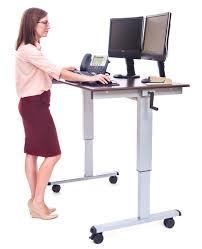 My Cozy Colors Laptop Desk Height Adjustable Standing Desks You Ll Wayfair