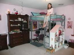 latest metal loft bed with desk abode full metal loft bed over