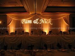 wedding backdrop monogram wedding headtable backdrop monogram event