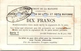 chambre du commerce laval billet 10 francs laval et mayenne chambre de commerce