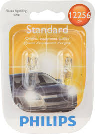 lexus yellow fog light capsule philips 12256b2 12256 bulb 2 pack topbulb