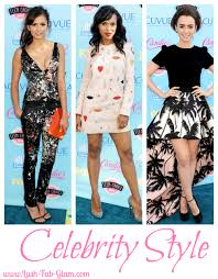 lush fab blogazine celebrity style a week fab patterns