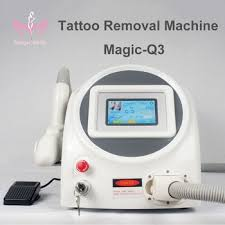 easy to use q switch nd yag laser machine 2017 best laser tattoo
