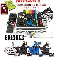 tattoo kit without machine amazon com grinder tattoo kit by pirate face tattoo 4 tattoo