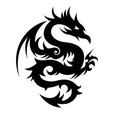 22 beautiful tribal dragon tattoo only tribal