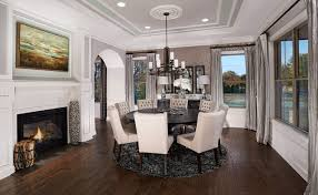 model home interiors model home interiors transitional dining room orlando by