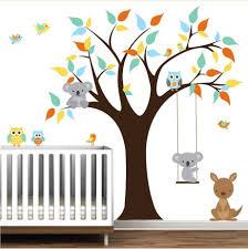 arbre chambre bébé stunning stickers chambre bebe galerie et enchanteur stickers arbre