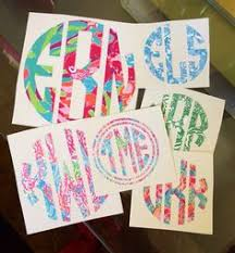 monogram stickers prep avenue how to make monogrammed stickers this has helped me