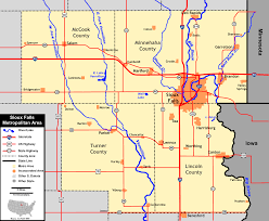 Map South Dakota File Sioux Falls Metropolitan Area Map 1 Png Wikimedia Commons