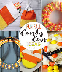 ideas for halloween candy bags fun fall candy corn ideas create link inspire 147 kleinworth u0026 co