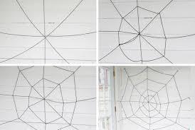 Easy Diy Halloween Yarn Spider Web