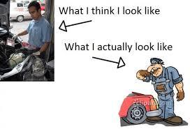 Mechanic Meme - working as a mechanic meme guy