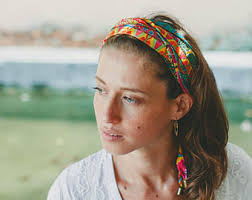 hippie hair bands colorful headband hair bands for women bohemian wrap