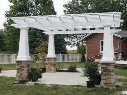 Patio Trellis Ideas Autumnwood Construction Deck Builder Rochester Mi