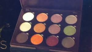 Fall Color Palette by Review And Swatches Shany 12 Fall Color Palette Youtube