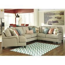 kerridon 4 piece sectional in putty nebraska furniture mart