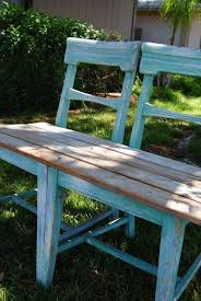 How To Build Outdoor Wooden Chairs by Best 25 Chair Bench Ideas On Pinterest Unusual Furniture