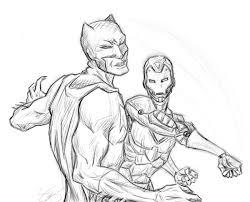 iron man vs batman sketch by of unsound mind on deviantart