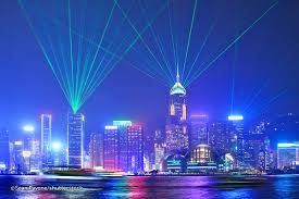 hong kong light show cruise symphony of lights in hong kong kowloon attractions