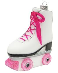 fashioned roller skate personalized ornament